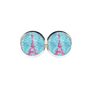 Glitter Paris Earrings